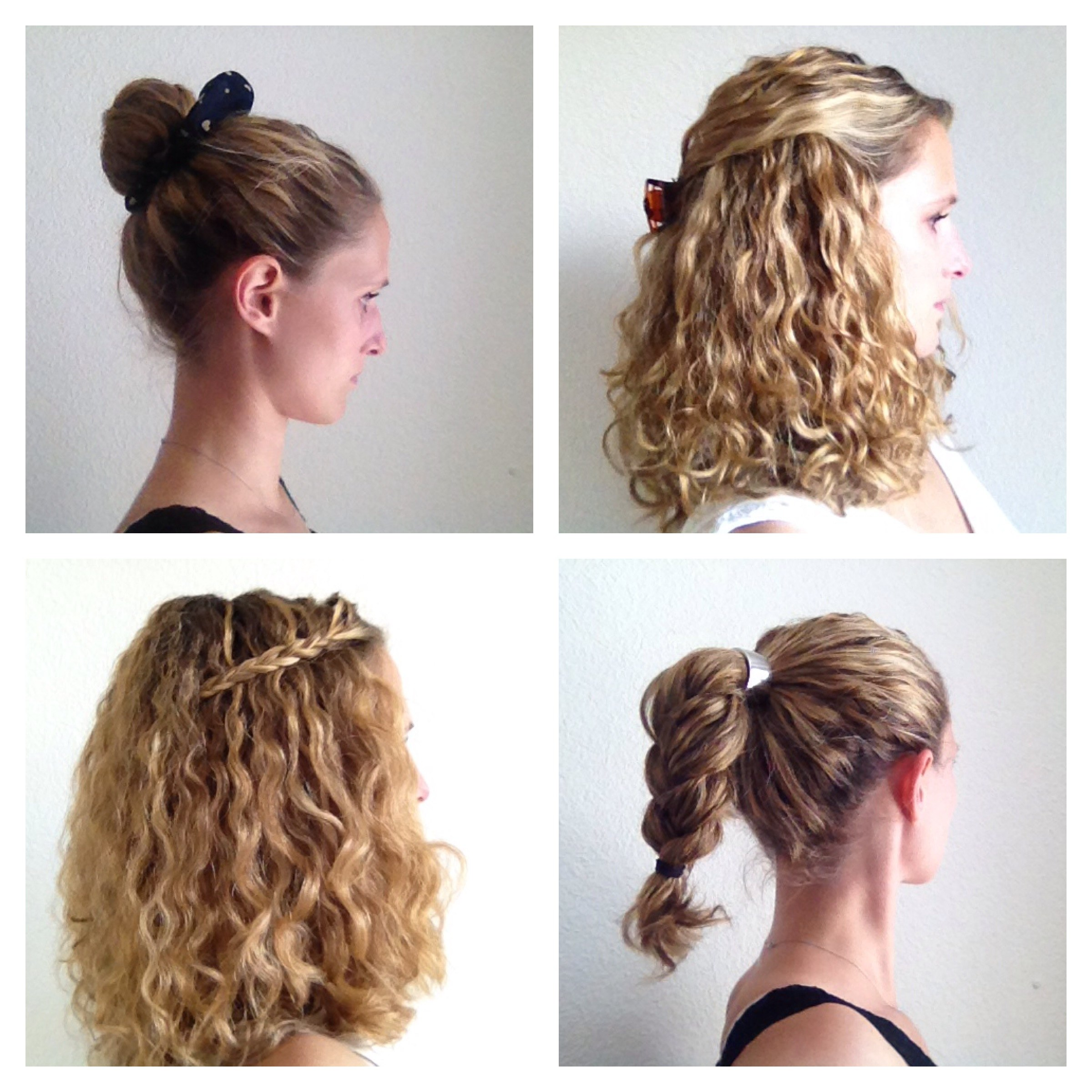 Simple Hairstyle Ideas For Curly Hair : Four styling ideas for curly hair justcurly