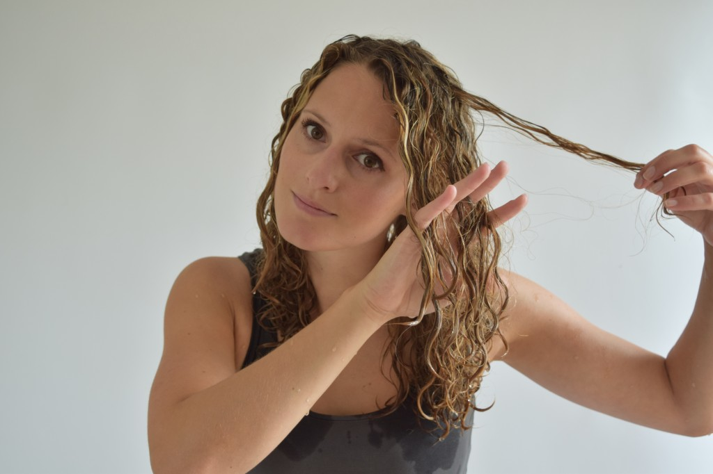 6. The knot is gone now! Move on the other parts of your head repeating this procedure all over