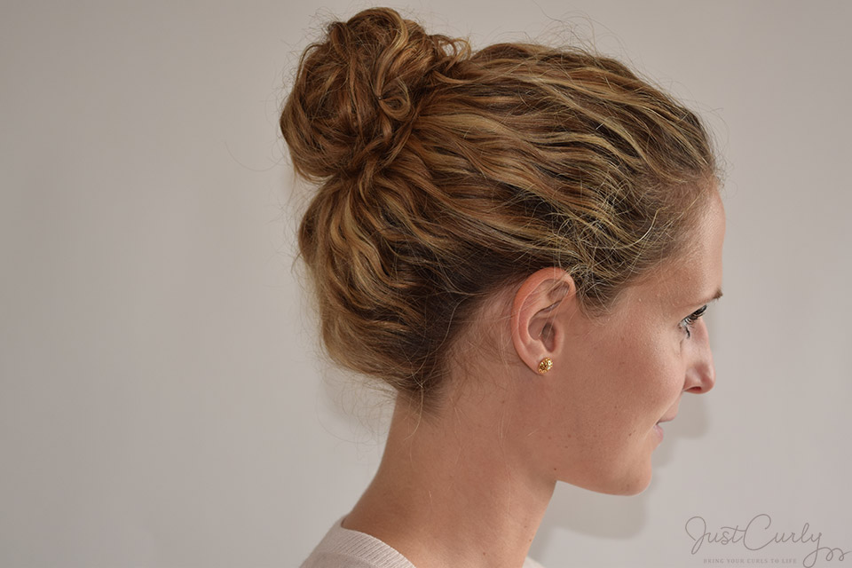 Pastels And A Messy Bun Justcurly