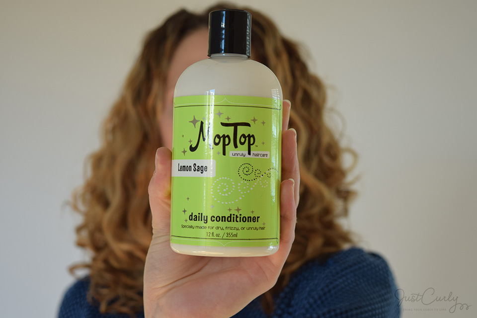 MopTop daily conditioner review