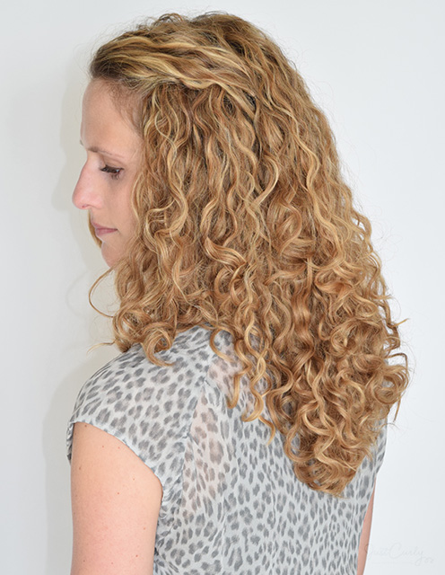 keep your curls back