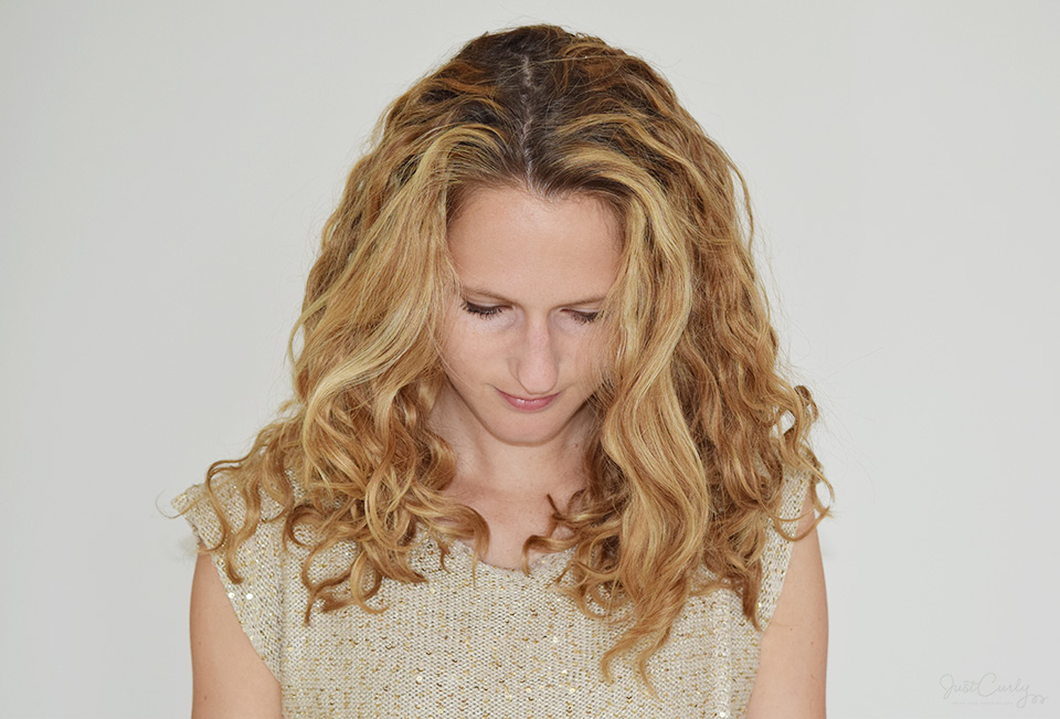How To Part Curly Hair Get Your Parting Line To Be Where You Want It To