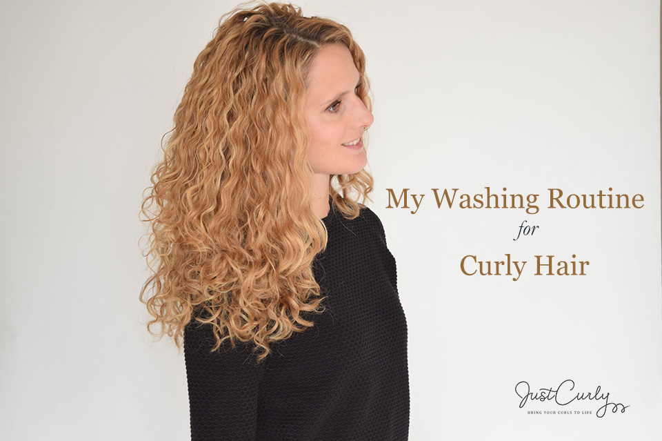 My Washing Routine for Curly Hair