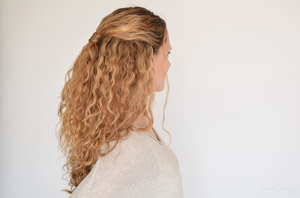 Astonishing My Top 5 Half Updos For Curly Hair Justcurly Com Short Hairstyles For Black Women Fulllsitofus