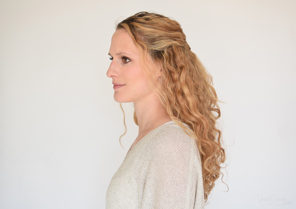 My Top 5 Half-Updos for Curly Hair