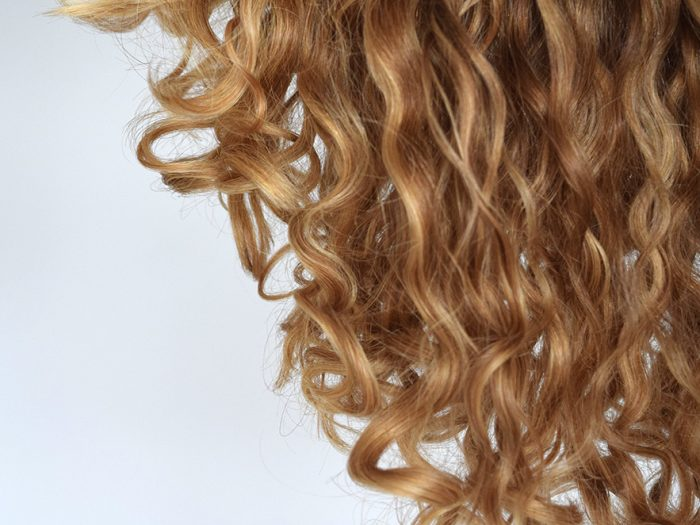 soft and bouncy curls